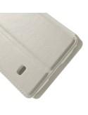 Oldalra nyíló fehér telefontok Samsung Galaxy S5 mini telefonhoz
