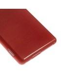 Piros rugalmas tok Sony Xperia M2 / M2 Dual készülékhez
