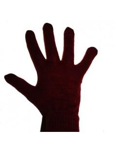 Vörös színű érintő kesztyű telefonhoz