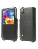 Ablakos fekete telefontok Samsung Galaxy S5 készülékhez