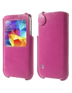 Ablakos pink telefontok Samsung Galaxy S5 készülékhez