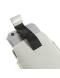 Fehér színű telefontok kihúzóval, kártyatartó résszel
