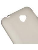 Áttetsző rugalmas fekete tok Sony Xperia E4 / E4 Dual készülékhez