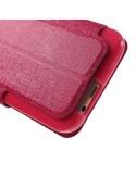 MLT pink színű notesz telefontok HTC One M9 készülékhez