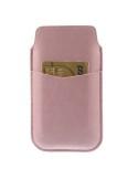 Rózsaszín telefontok kihúzóval, kártyatartó résszel