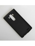 Bőr tapintású fekete háttok LG G4 készülékhez