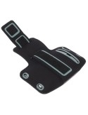 Karra csatolható fehér rugalmas anyagú telefontok futáshoz - 7,5*15,5 cm - fényvisszaverő csíkkal