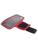 Karra csatolható telefontok futáshoz - 7,5*15,5 cm - PIROS