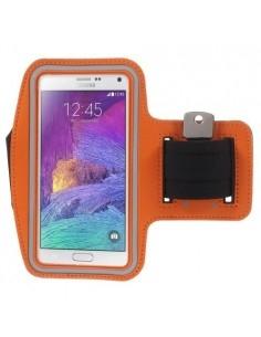 Karra csatolható telefontok futáshoz - 7,5*15,5 cm - NARANCS