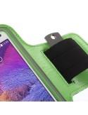Karra csatolható telefontok futáshoz - 7,5*15,5 cm - ZÖLD
