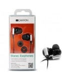 CANYON CNR-EP09NB stereo fülhallgató - FEKETE