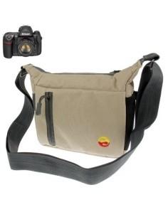 Digitális fényképezőgép táska - 19x15x8 cm - BÉZS