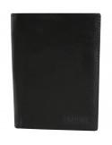 Hárombahajtott valódi bőr pénztárca - 495425010001