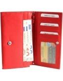 Nagyméretű női pénztárca - PIROS - P495035050062