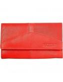 Nagyméretű női pénztárca - PIROS - P495075050008