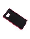 Bőr tapintású pink tok Samsung Galaxy Note 5 készülékhez