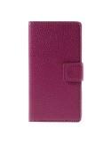 Oldalra nyíló pink  tok Sony Xperia Z5 Compact telefonhoz