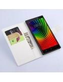 Fehér színű notesz tok Lenovo Vibe Z2 Pro telefonhoz