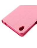 MLT rugalmas notesz tok Sony Xperia Z5 / Z5 Dual telefonhoz - RÓZSASZÍN