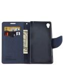 MLT rugalmas notesz tok Sony Xperia Z5 / Z5 Dual telefonhoz - PINK