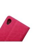 Oldalra nyíló tok Sony Xperia Z5 / Z5 Dual telefonhoz - PINK