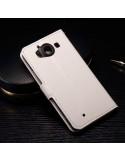 Fehér notesz tok Microsoft Lumia 950 telefonhoz