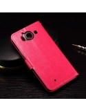 Pink notesz tok Microsoft Lumia 950 telefonhoz