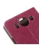 Pink oldalra nyíló telefontok Microsoft Lumia 950 telefonhoz