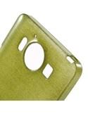Fénylő rugalmas zöld színű tok Microsoft Lumia 950 készülékhez