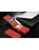CaseMe notesztok iPhone 6 Plus / 6s Plus telefonhoz - PIROS