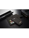 CaseMe notesztok Samsung Galaxy S7 telefonhoz - FEKETE