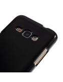 MERCURY rugalmas tok Samsung Galaxy J1 (2016) telefonhoz - FEKETE