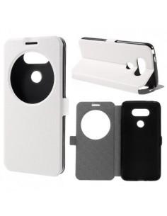 Fehér színű körablakos telefontok LG G5 telefonhoz