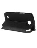 Fekete színű körablakos telefontok LG K4 telefonhoz