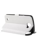 Fehér színű körablakos telefontok LG K4 telefonhoz