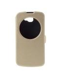 Pezsgő színű körablakos telefontok LG K4 telefonhoz