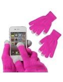 Pink érintő kesztyű telefonhoz
