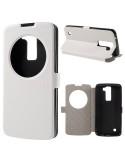 Fehér színű körablakos telefontok LG K8 telefonhoz