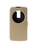 Pezsgő színű körablakos telefontok LG K8 telefonhoz