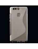 S-line rugalmas áttetsző telefontok Huawei Ascend P9 PLUS készülékhez