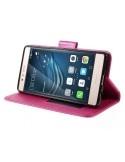 Mercury pink notesz tok Huawei Ascend P9 PLUS telefonhoz