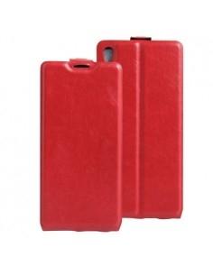Flip piros tok Sony Xperia XA Ultra telefonhoz
