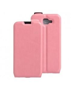 Flip rózsaszín tok LG K3 telefonhoz