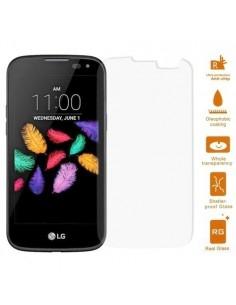 Kijelzővédő karcálló edzett üveg LG K3 típusú telefonhoz