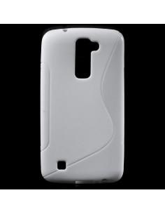 S-Line rugalmas tok LG K10 telefonhoz - FEHÉR