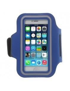 Karra csatolható rugalmas anyagú telefontok sportoláshoz - SÖTÉTKÉK
