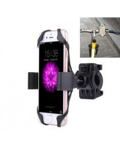360 fokban forgatható kerékpáros telefon tartó iPhone 7 / 7 Plus / iPhone 6 / 6 Plus / iPhone 5 / 5C & 5s fekete