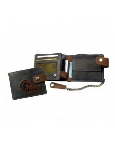 Cavallo láncos bőr pénztárca - LandLeder - 572