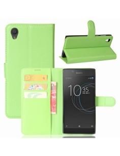 Notesz tok Sony Xperia L1 telefonhoz - ZÖLD