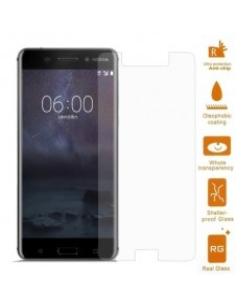 Kijelzővédő karcálló edzett üveg Nokia 6 típusú telefonhoz